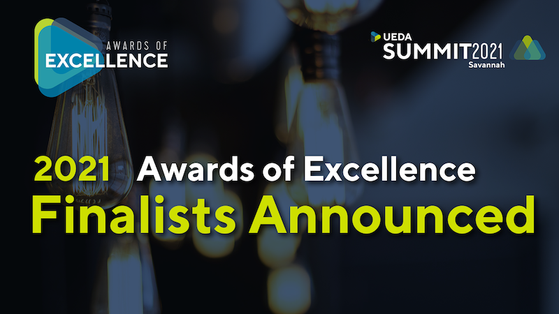 UEDA Selects Finalists for 2021 Awards of Excellence